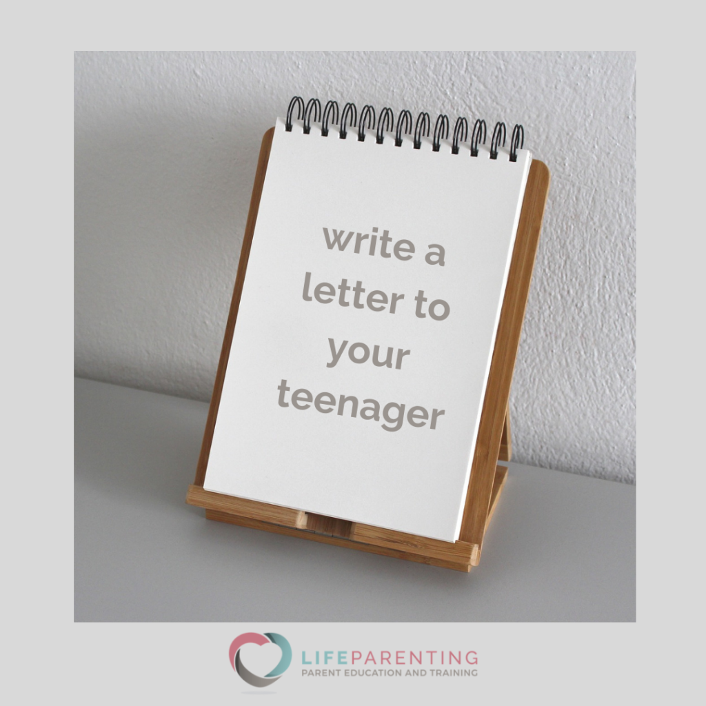 Write a Letter To Your Teenager