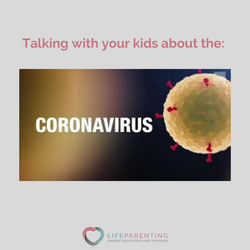 Talking with your kids about the COVID-19
